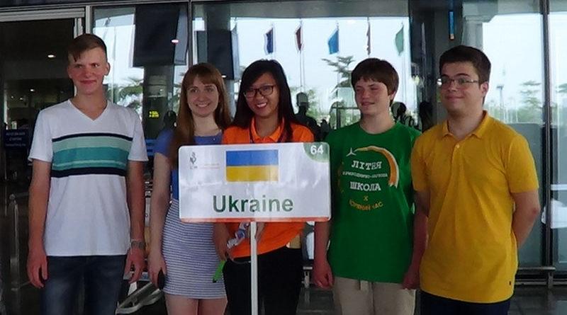 Українські школярі привезли з В'єтнаму срібло і бронзу
