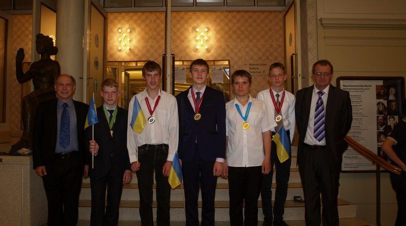 «Золото», «Срібло» та «Бронза» юних українських фізиків